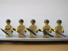 Lego WW2 USMC Infantry Soldiers MINIFIGS Weapons Tank NEW