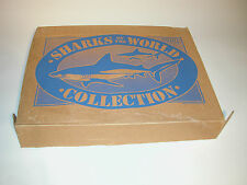 SHARKS OF THE WORLD  LAKESHORE TOYS TO GROW ON 9 SHARKS CHINA 1993 BOX