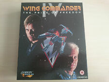WING COMMANDER 4 IV The Price Of Freedom - CLASSIC SPACE SIM BIG BOX PC CD