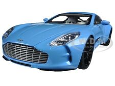 ASTON MARTIN ONE 77 TIFFANY BLUE 1/18 DIECAST CAR MODEL BY AUTOART 70240