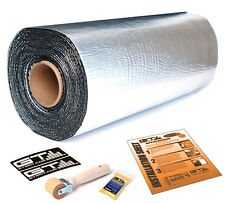 "NEW 50sqft 36"" Wide GTMAT Ultra 80mil Car Sound Deadener Material Roller Kit"
