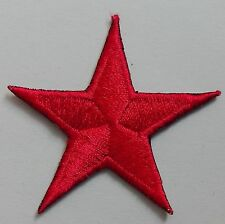 Five Pointed Star DIY Fabric Sticker Embroidery Badge Patch Clothes NO-345
