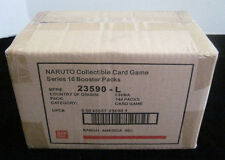 Naruto Broken Promise TCG CCG Booster Box Case - 6 Boxes - 24 Packs Per Box