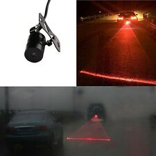 Auto Car Laser Fog Warning Lamp Red Light Driving Safety Aluminum Durable New