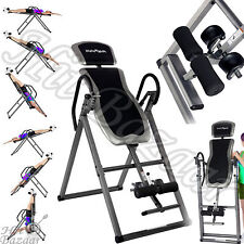 Inversion Table Hang Ups Swing Foldable Fitness Back Pain Relief Exercise