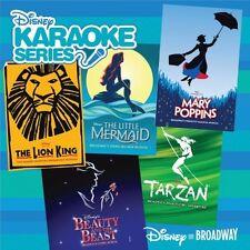 DISNEY'S KARAOKE SERIES CD - DISNEY ON BROADWAY (2009) - NEW UNOPENED