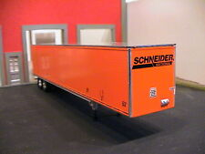 DCP SCHNIEDER 53' UTILITY 3000-D DRY VAN SEMI TRAILER 1:64 (USED LOOSE GOOD)