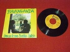 "BALANGANDA' ""COMO CAR DE NOVO/BRASILVIA"" 7"" LETICHETTA Ita 1982 PROMO"