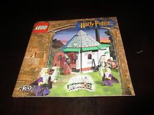 LEGO Harry Potter Philosphers Stone Hagrid's Hut 4707 (MANUAL ONLY)
