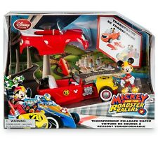 Disney Mickey and the Roadster Racers MICKEY'S HOT ROD Transforming pullback car