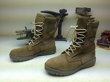 MADE IN USA BELLEVILLE USMC DESERT BROWN LEATHER MILITARY ENGINEER BOOTS 10.5 W