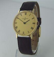 Original ULYSSE NARDIN Handaufzug Uhr 18K Gelbgold Vintage Uhr 750