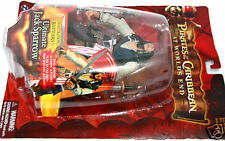 Pirates Caribbean NEW Ultimate Jack Sparrow Dual Sword Figure Disney MOC ~ryokan