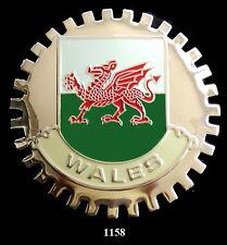 CAR GRILLE EMBLEM BADGES - WALES(FLAG)