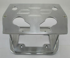 Chevy Logo Billet Aluminum Optima Battery Box Tray Group 34/78 Polished Bowtie