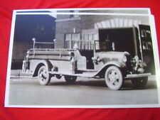 1934 FORD  FIRETRUCK WRAY FIRE DEPT.  11 X 17  PHOTO   PICTURE
