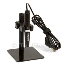 Supereyes B008 Digital USB Microscope 500x 5MP Handheld Portable Magnifier Stand