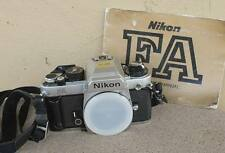 Nikon FA SLR Manual Focus Camera Body with Instruction Manual and strap