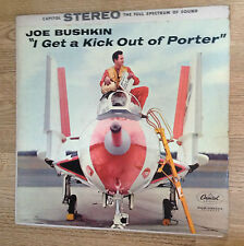 "LP US Joe Bushkin ""I get a kick out of Porter"" pochette AVION stéréo EXC *"