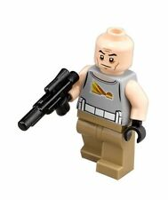LEGO STAR WARS MINIFIGURE COMMANDER GREGOR WITH BLASTER GUN 75157