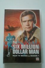 The Six Million Dollar Man: Season 1 DVD, Richard Anderson, Lee Majors, used