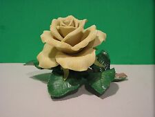 LENOX YELLOW ROSE Garden Flower sculpture NEW in BOX with COA