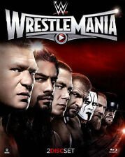 WWE WWF ECW WCW: WRESTLEMANIA 31 [BLU-RAY 2015 2-Disc Set] BRAND NEW SEALED