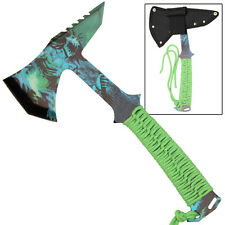 Hell Creature Tactical Survival Stainless Steel Outdoor Throwing Axe