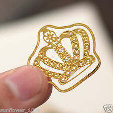 1 PCS Paper Clips Crown Shaped Metal Bookmarks Cute Bookmarks Metal Clip