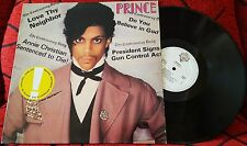 PRINCE *Controversy* VERY SCARCE Spain ORIGINAL 1981 LP NO BAR CODE! DISCOS CBS