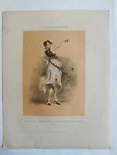 LA FILLE D'HONNEUR DE L'ESCADRON DE VENUS XVIème  GRAVURE  FRAGONARD  XIXème