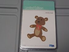 QUICKUTZ LIMITED EDITION TEDDY BEAR CUTTING DIE REV-0224-S NEW NIP A35