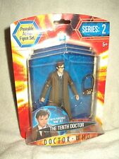 Doctor Who Action Figure  Series 2 Tenth Doctor with portable Wire set