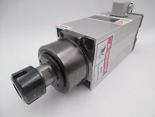 7.5KW ER32 CNC Woodworking Square Spindle Motor 4 Bearings Air Cooled 18000rpm