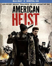 American Heist     Blu-ray  No Digital   LIKE NEW
