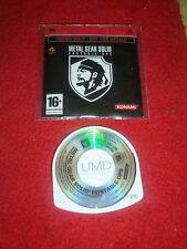 Jeu PSP Metal Gear Solid Portable Ops Promo only not for resale