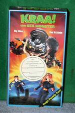 VHS Tape - KRAA! The Sea Monster PROMO ISSUE - Factory Sealed Brand New