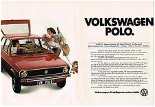 Publicité Advertising 1978 (2 pages) VW Volkswagen Polo