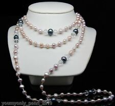 """MP"""" 52 inch Genuine Cultured FreshWater Pearl Necklaces"""