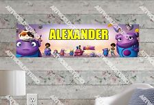 Personalized/Customized Home Movie Name Poster Wall Art Decoration Banner