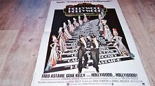 HOLLYWOOD HOLLYWOOD ! fred astaire gene kelly affiche cinema musique 1972