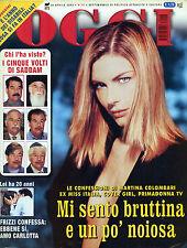 OGGI N°18/ 30/APR/2003- I CINQUE VOLTI DI SADDAM* LE CONFESSIONI DI M. COLOMBARI