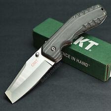 CRKT Columbia River Folding Razel Black Micarta Handle Folding Knife 4030