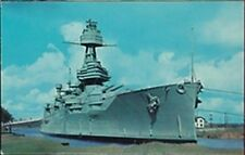 BATTLESHIP USS TEXAS (BB-35) POST CARD, 1962