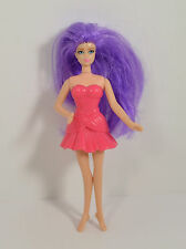 "2011 Hot Pink Fairy 5"" McDonald's #3 Action Figure Barbie A Fairy Secret"