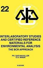 Techniques and Instrumentation in Analytical Chemistry: Interlaboratory...