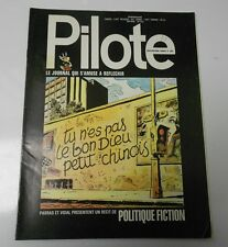 PILOTE French Comic Cartoon Magazine #681 FN+ 52 pgs COLOR Oversized