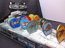Star Wars Celebration Europe Collecting Track Vehicle Medallion Set with Display