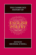 The Cambridge History of English Poetry, , Very Good condition, Book