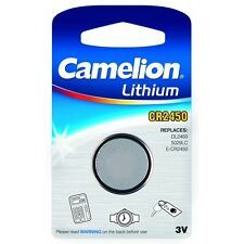 Blister 1 batteria a bottone CR2450 3V Litio Camelion, 2 piles acquistato = 1